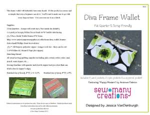 223 Diva Frame Wallet Andover